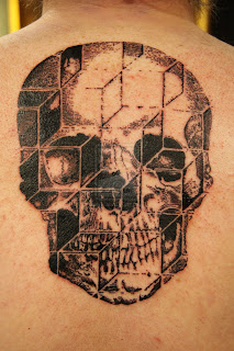 Candy skull tattoos for girls and women