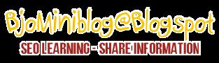 Bjo Miniblog@Blogspot