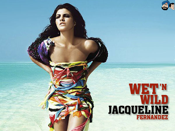 Jacqueline Fernandez Hot Wet & Wild Photoshoot