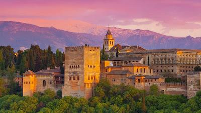 granada, alhambra, albarracín