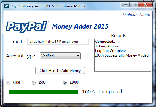 hack paypal accounts make big money The paypal money adder, the ultimate paypal hack as been released with daily limit you can add up to 500$ per day without any restrictions to your account.