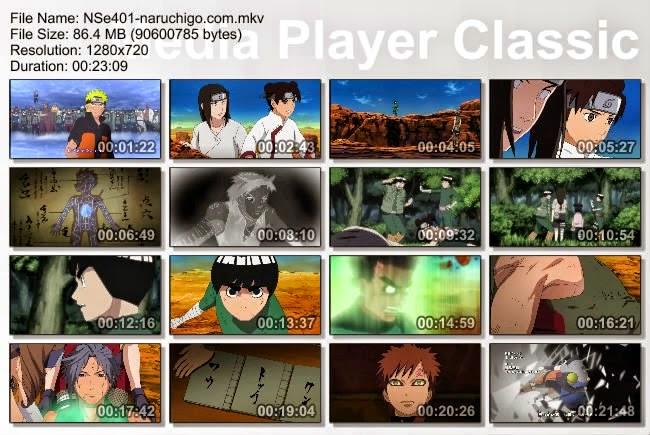 Naruto Shippuden Episode 401 Subtitle Indonesia
