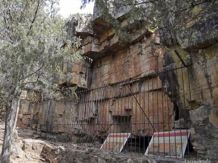 peintures rupestres protégées