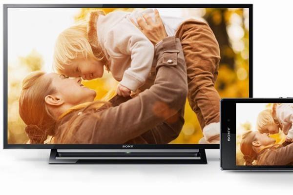 Kết nối điện thoại Sony với tivi Sony Screen mirroring chia sẻ không dây tiện dụng
