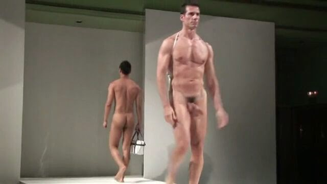 models nude on runways Male