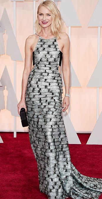 Óscares 2015 - As mais bem vestidas - Naomi Watts em Armani Privé