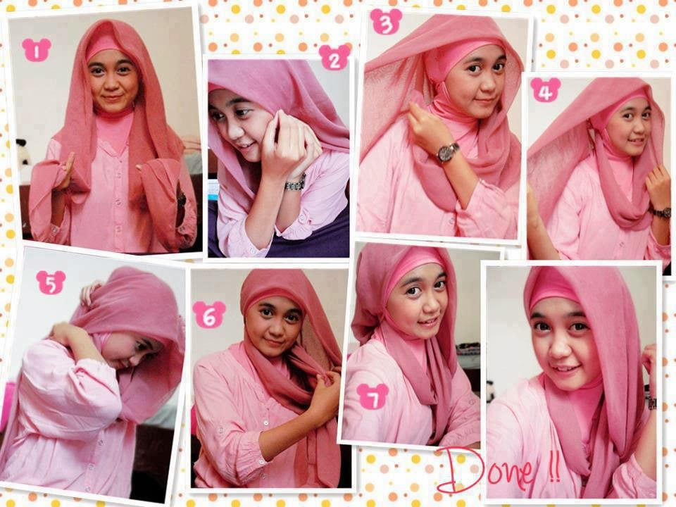 cara-memakai-jilbab-pashmina-kreasi