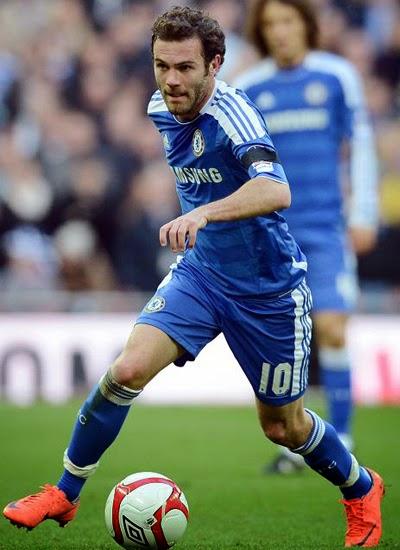 Juan Mata Chelsea Transfer Manchester United 2014
