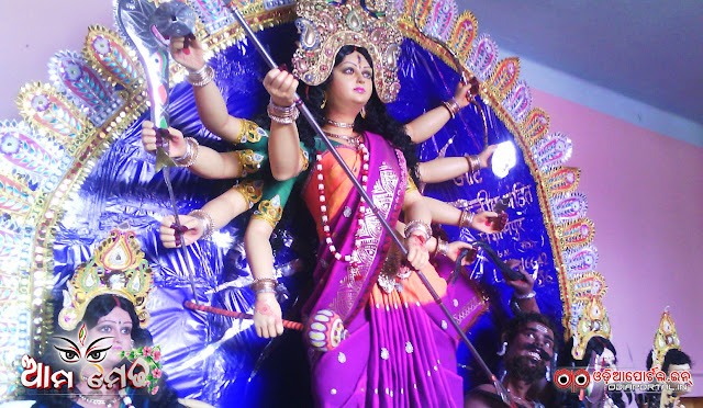 Durga Medha From Demala, Ali, Kendrapara - Photo By Ajit Kumar Mohapatra