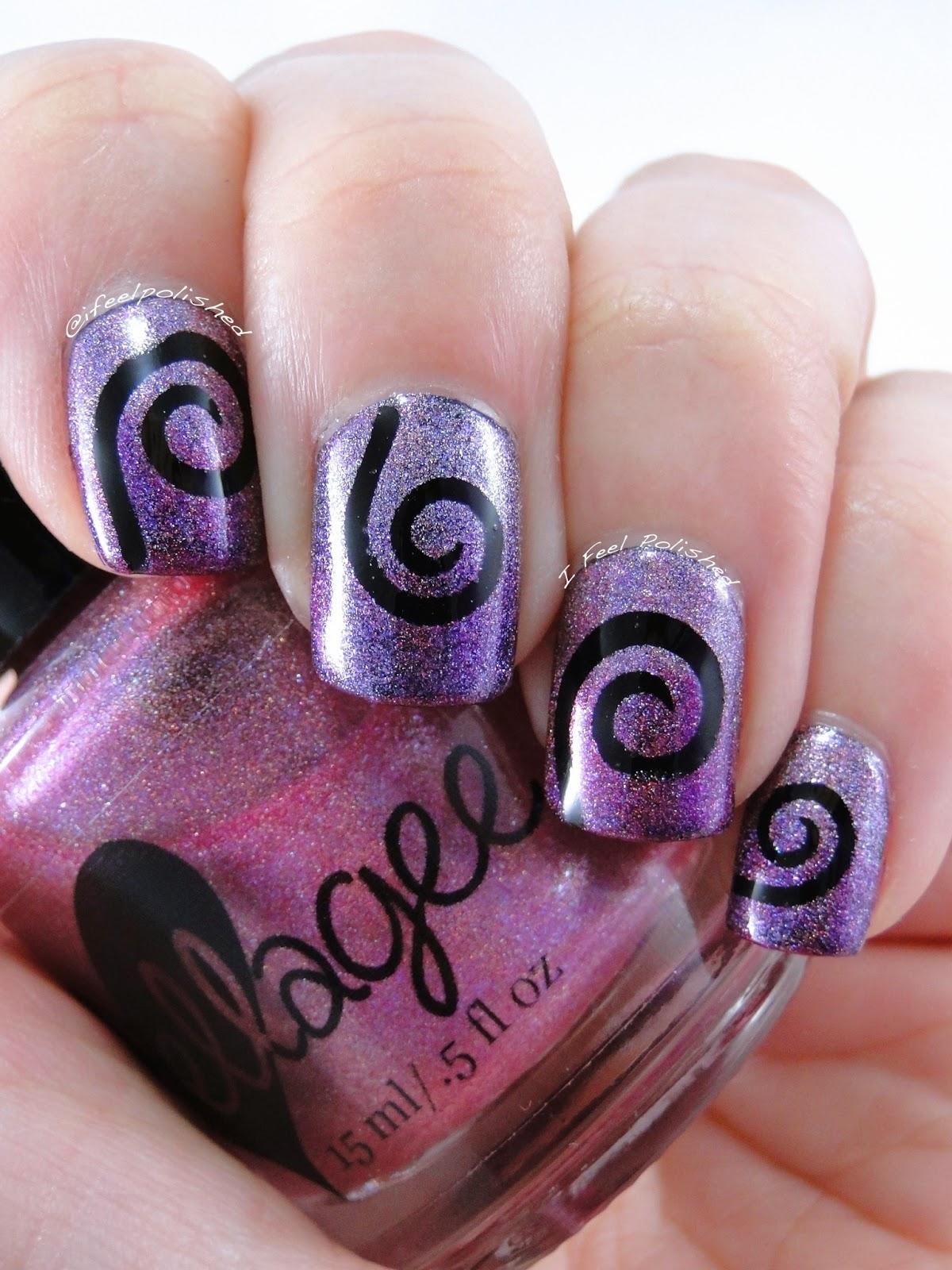 Spiral Nails