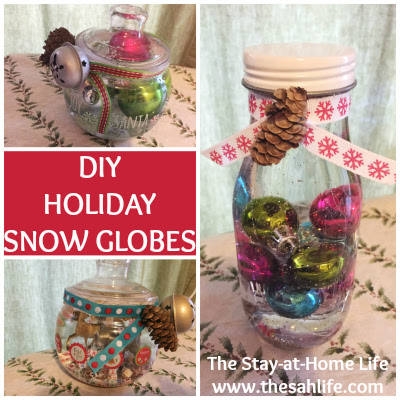 Christmas, snow globe, craft, snowglobe, holiday, homemade gift, gift, kids