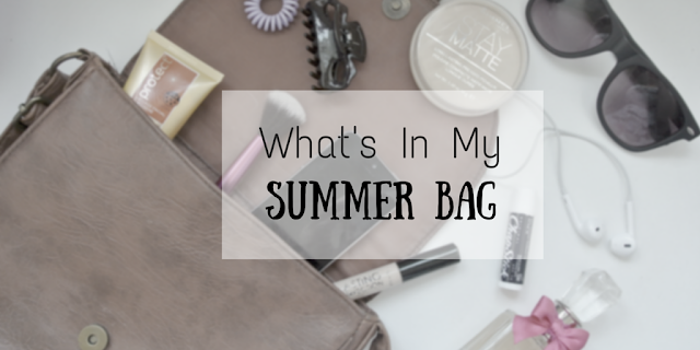 What's in my summer bag victoriabellxo