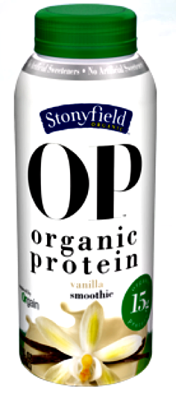 Organic Protien Smoothie form Stonyfield