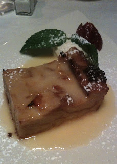 Passion the Restaurant dish: Bread Pudding
