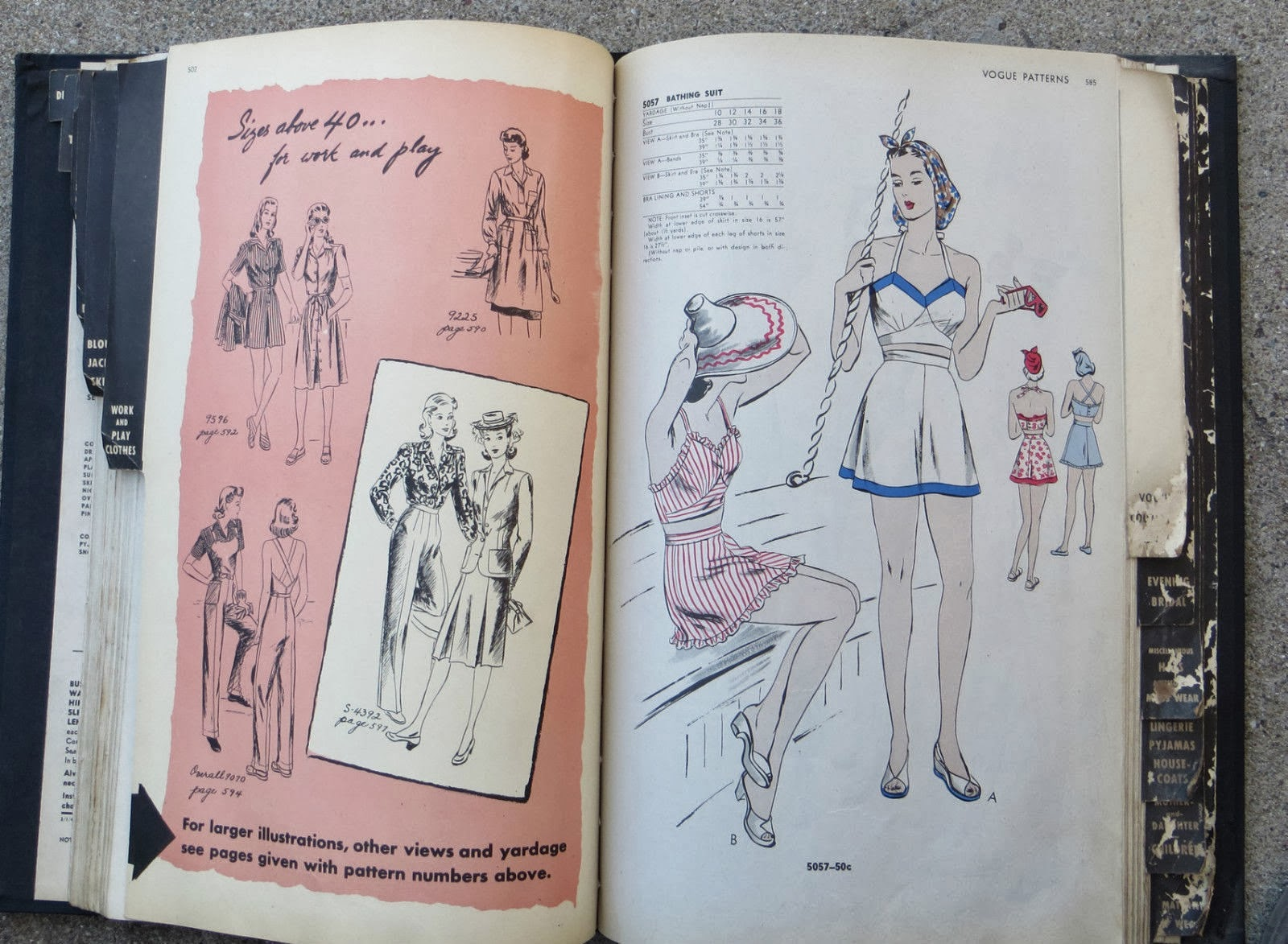 "Flashback Summer:  6 ""Sew For Victory!"" Pattern Inspirations from Emily's Vintage Visions"