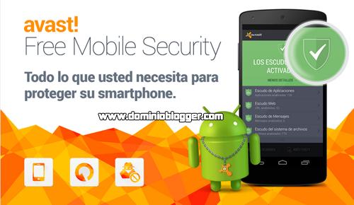 Protege tu telefono con Mobile Security and Antivirus de Avast