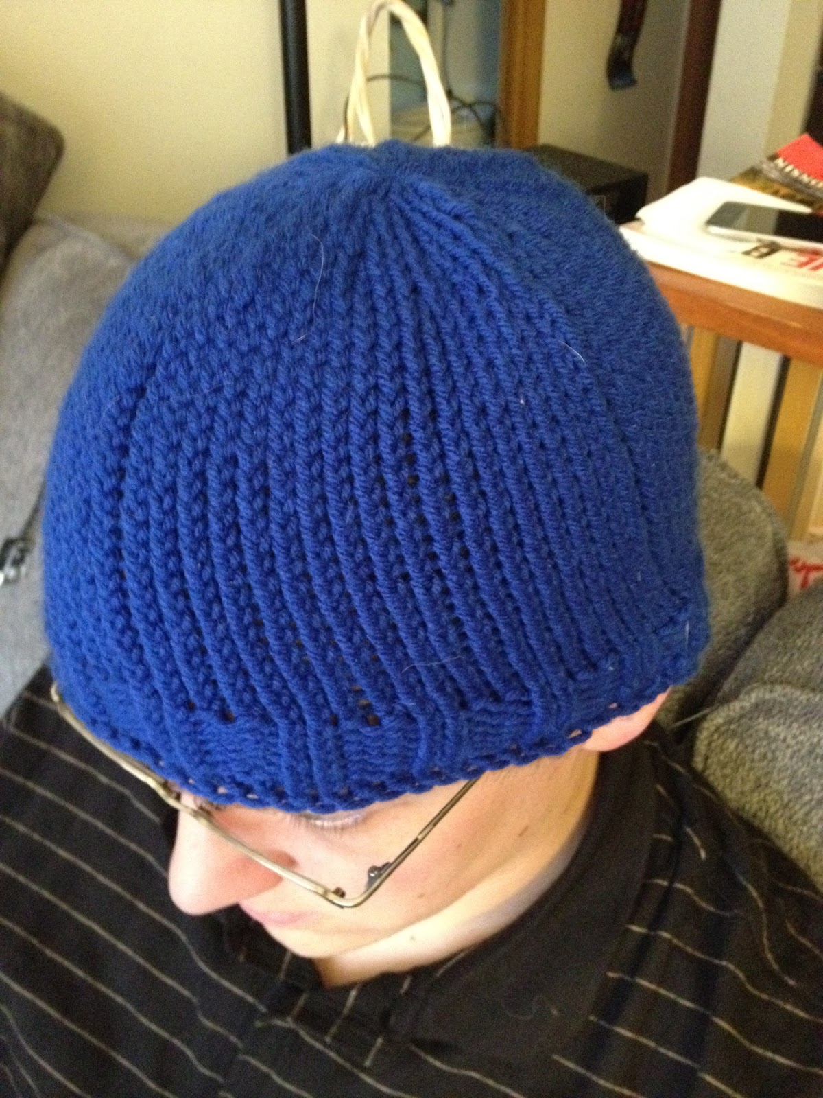 Sonic the Hedgehog Knit Hat. Every year Bryan s baseball team has a costume  game 48bd59925d8