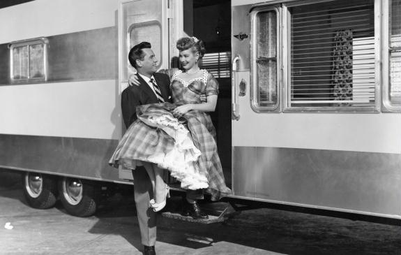 46 Best The Long Long Trailer.. Lucy & Dezi images | I ...
