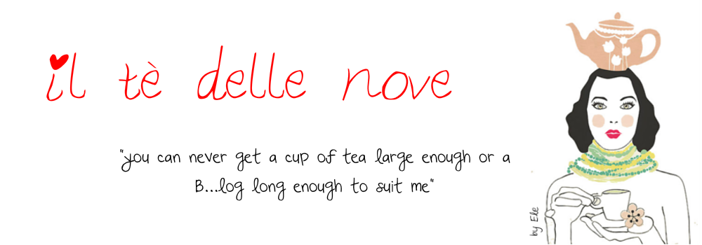 Il tè delle nove