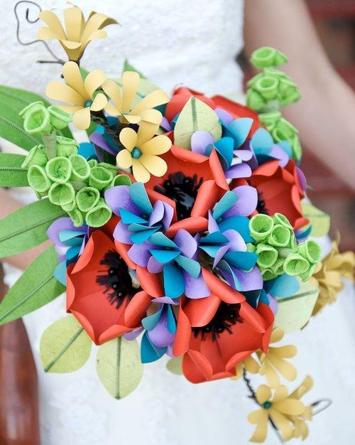 Diy Paper Flower Bridal Bouquets St George Party Rentals In