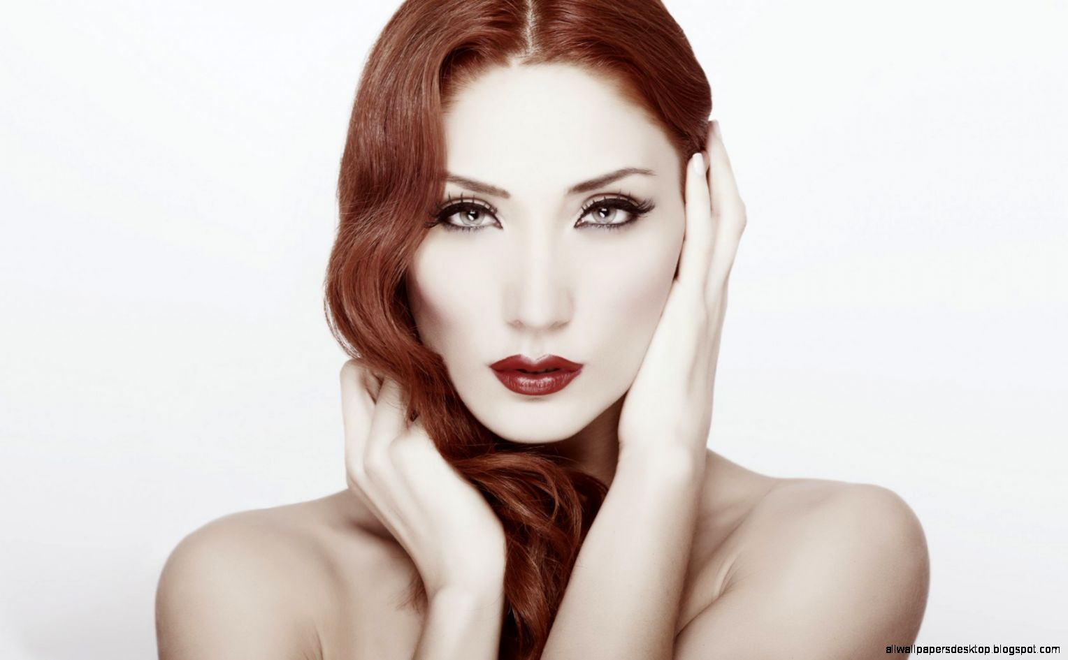 Lovely Girl Redhead Makeup 6971090