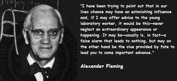 alexander fleming quote on antibiotics