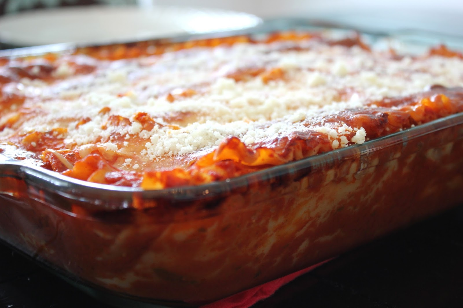 Cooper & Chloe: Three Cheese Lasagna