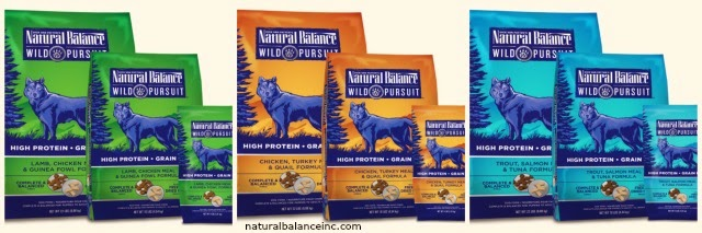 Natural Balance Wild Pursuit kibble + freeze-dried raw diet for dogs