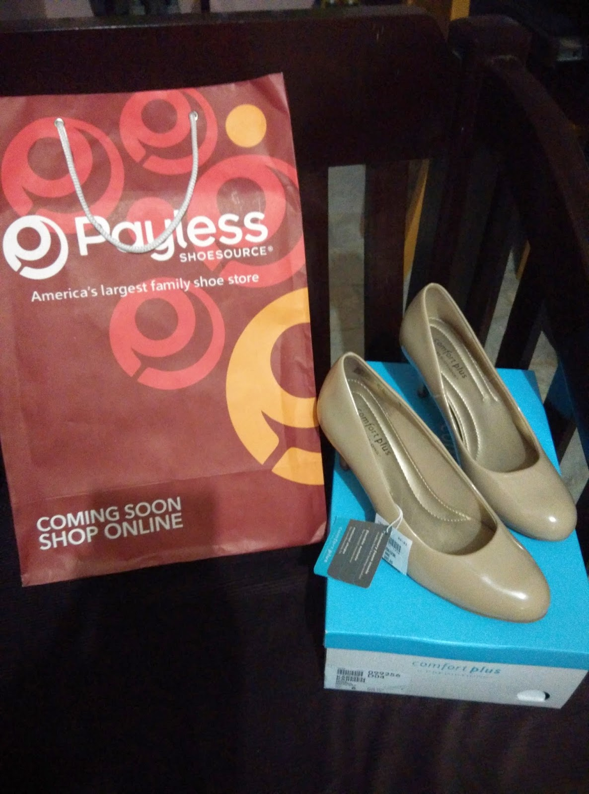 payless, Karmen, pump, Comfort Plus, Predictions