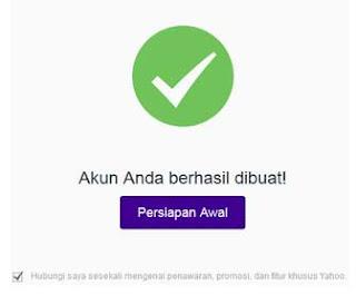 email baru yahoo mail
