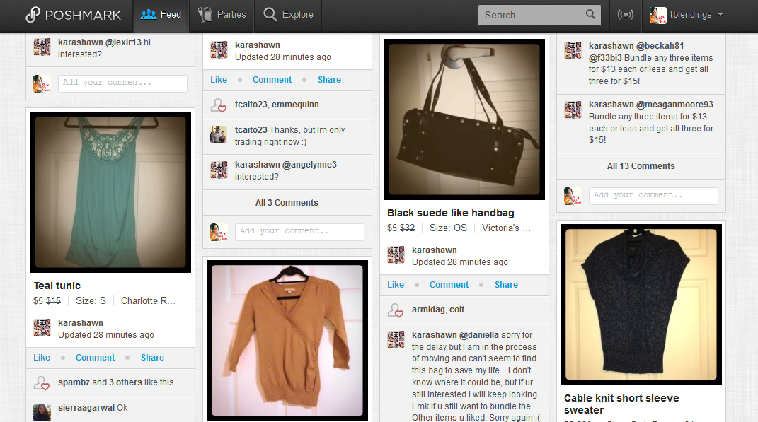 Beautiful blendings poshmark an app for the fashion lover for Apps similar to poshmark