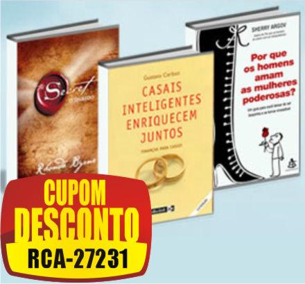 Cupom Efácil - Livros em promoção