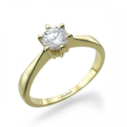 טבעת אירוסין mc-2010-4