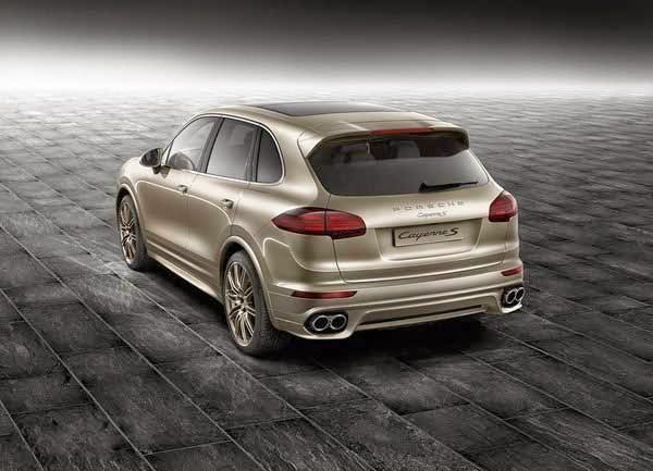 2015 Porsche Cayenne S Palladium Metallic By Porsche Exclusive