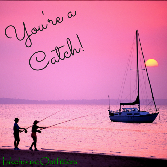 Lake Themed Valentines to Share, Valentine's Day, Lake Valentines Cards