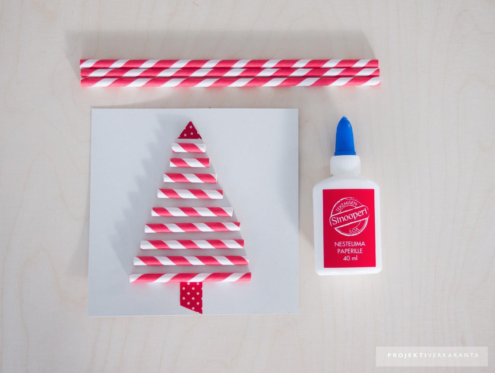 joulukortti idea JOULUKORTTI PAPERIPILLEISTÄ / DIY LOKAKUU / oblik. joulukortti idea