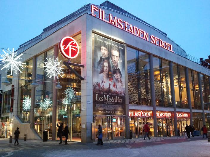 Film Staden Sergel, Stockholm, Sweden