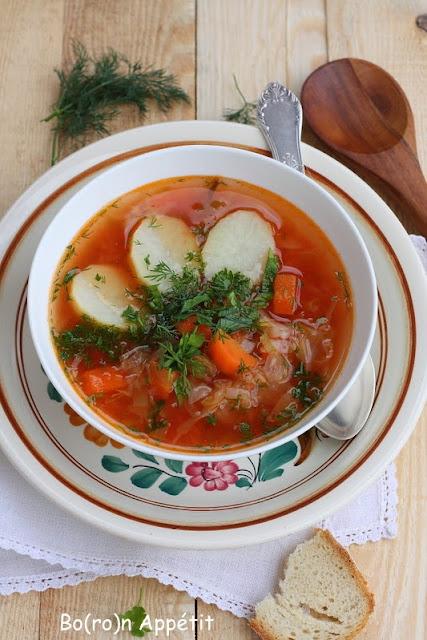 Kapuśniak z pomidorami-przepis
