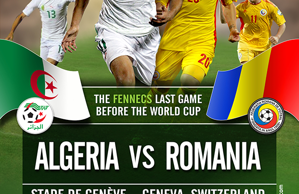 PREVIEW Pertandingan Algeria vs Romania 5 Juni 2014 Dini Hari