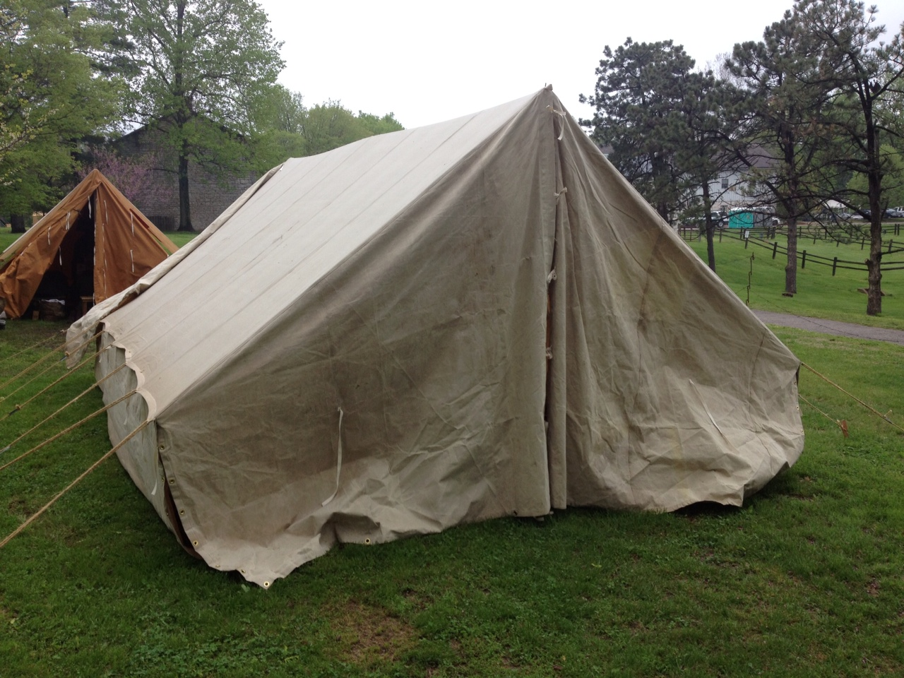COLOR OPTONS FOR WWII GERMAN TENTS & German WWII Tents from Armbruster | Armbruster Tent Maker