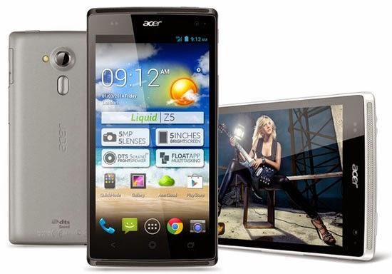 Harga Handphone Acer Update Januari 2015