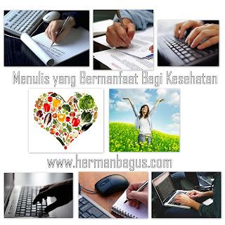Menulis yang Bermanfaat Bagi Kesehatan