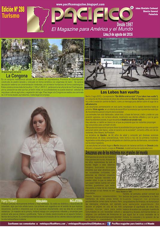 Revista Pacífico Nº 288 Turismo