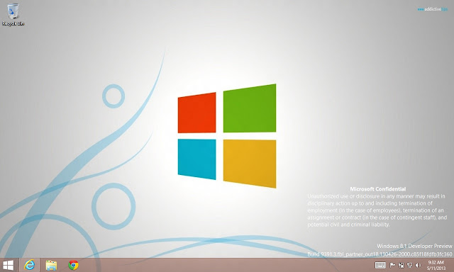 Windows 8.1 Build 9391 screenshot leaked (real or fake)