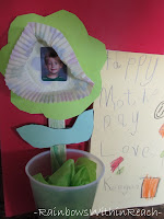 photo of: Mother's Day flower project, Mother's Day craft for children