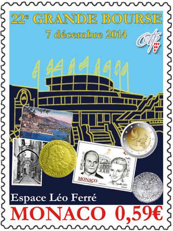 Monaco: GRAND FAIR (GRANDE BOURSE) 2014