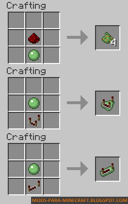 Crafteos - Redstone Paste Mod para Minecraft 1.8/1.8.9