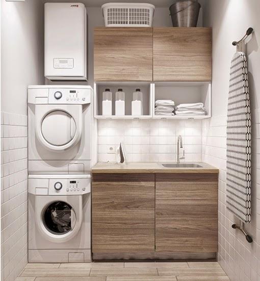ispirazioni De Cuarto Lavanderia : Marzua: D?nde crear zonas de lavado y planchado