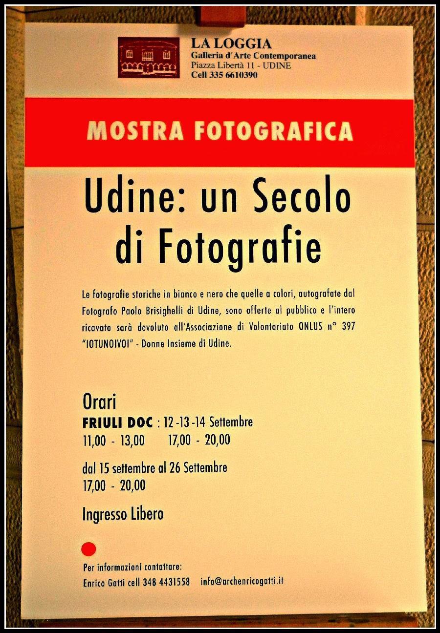 UN SECOLO DI FOTOGRAFIE A UDINE MOSTRA FOTOGRAFICA