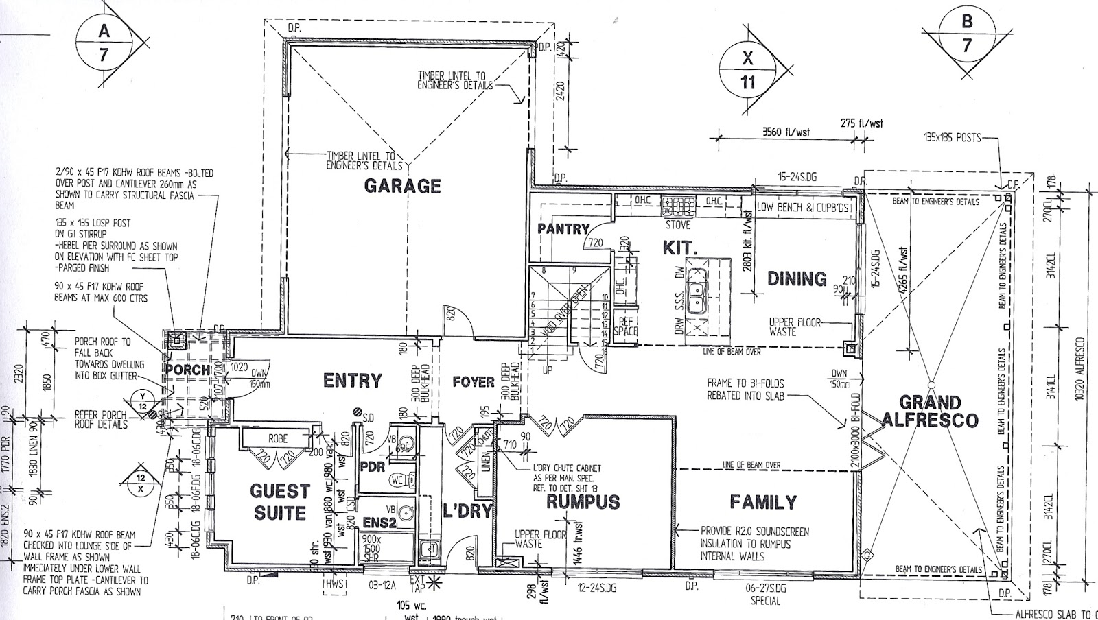 Our Porter Davis Wembley 35 Construction Drawings